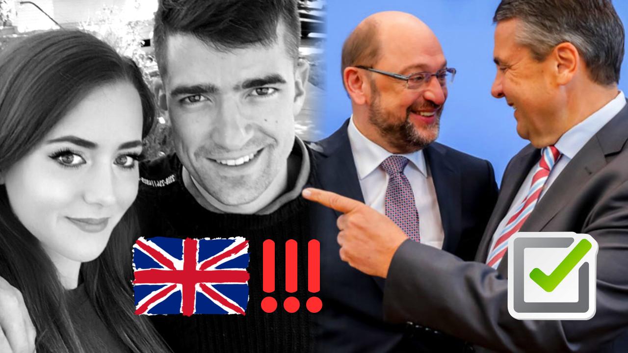 Sellner im Knast, SPD GroKo Streit, Regime in Panik