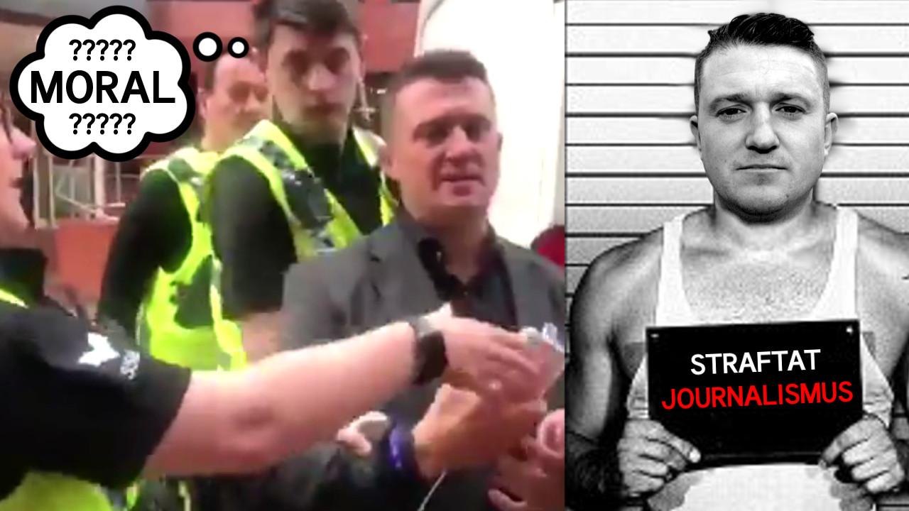 Tommy Robinson im Knast – Journalismus jetzt illegal in GB!