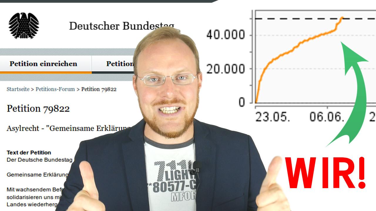 50.000!!! – Grell-Nation belagert Bundestag(sseite) :)