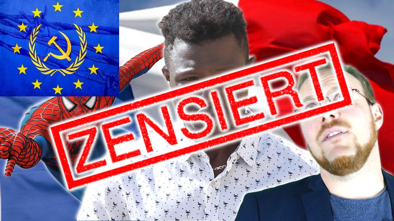 Video von gestern zensiert! Und die EU will noch mehr!