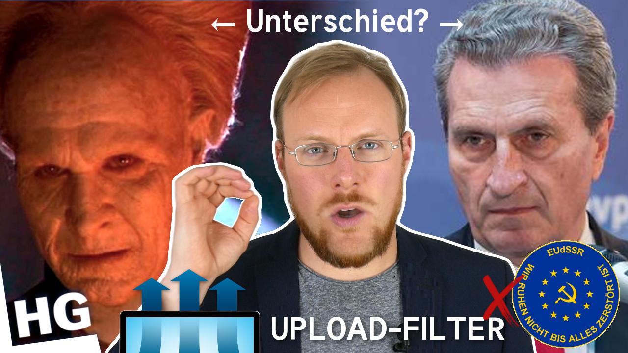 [dexit] Ratet mal, wer die Upload-Zensur-Filter der EU will!
