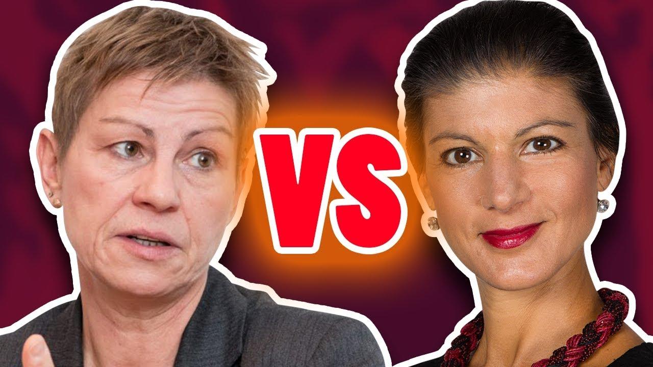 Sahra Wagenknecht VS Elke Breitenbach – Linke zerfleischen sich