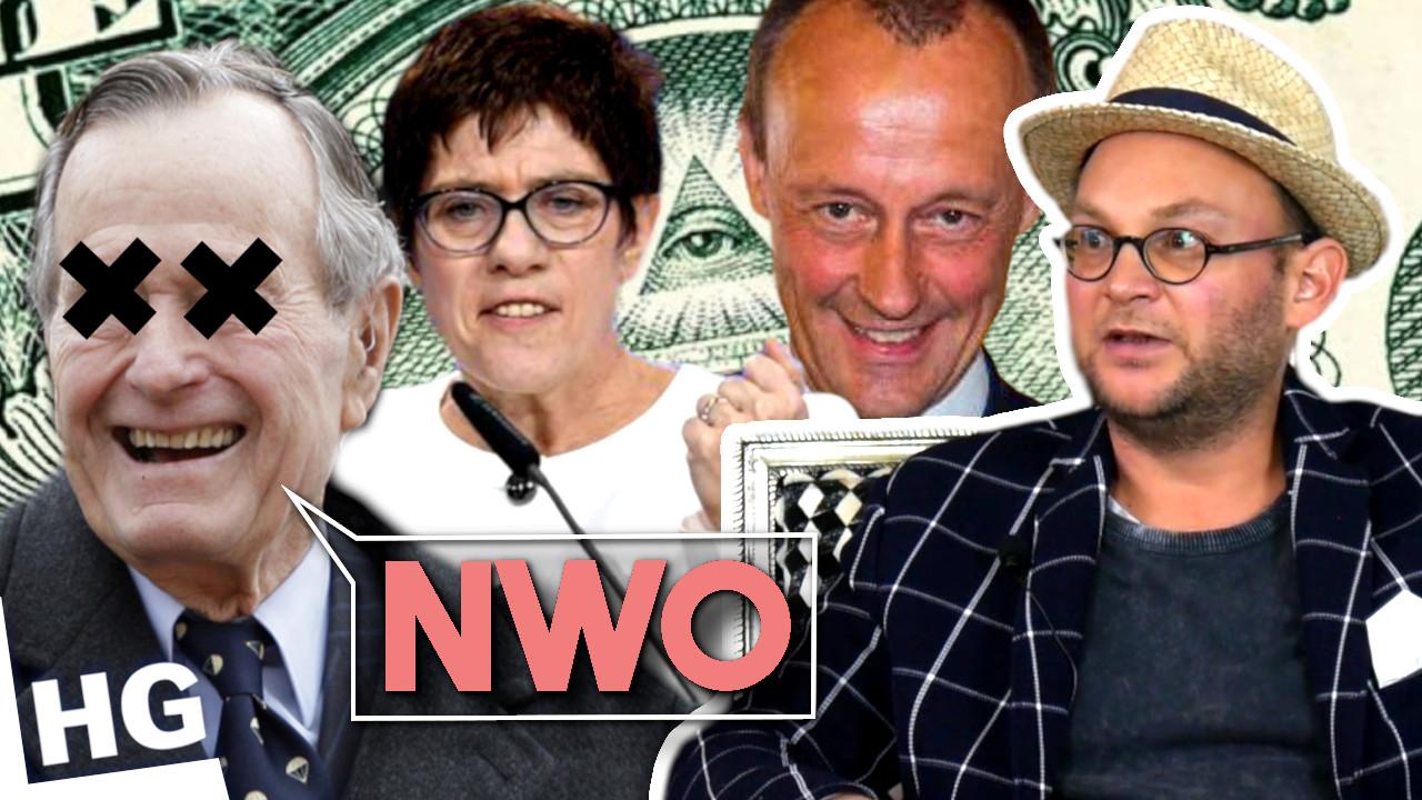 Deutschland: Hooton, Bush + Machtergreifung der NWO – Georg Wagner