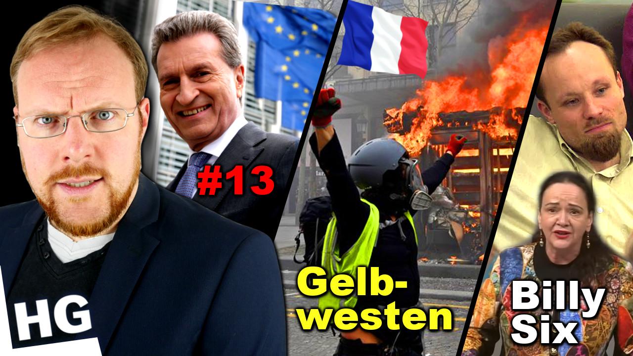 Frankreich TOBT! / Artikel 13 EU / Lügen über Billy Six