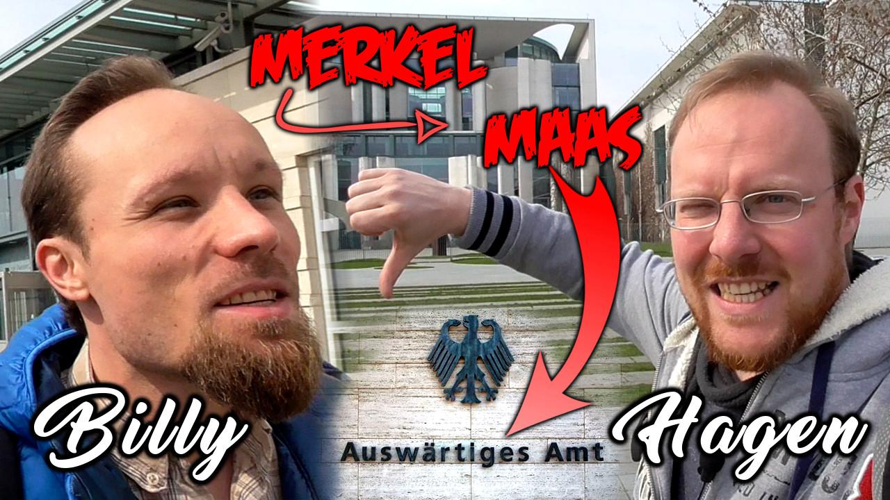 Merkels Viertel aufmischen – Mit BILLY SIX in Berlin