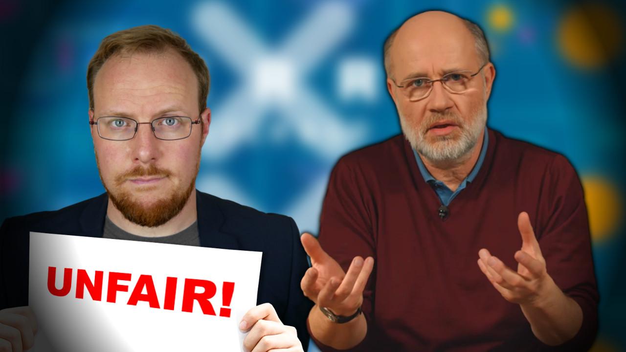 Herr Prof. Lesch – warum verleumden Sie mich?!