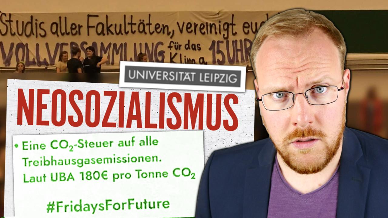 Skandal: Uni Leipzig StuRa wirbt offen für Sozialismus!