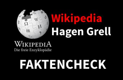 Faktencheck Wikipedia: Hagen Grell