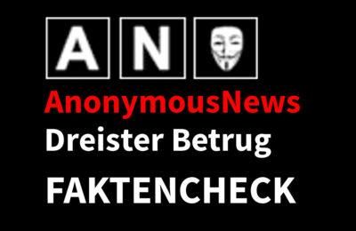Faktencheck AnonymousNews: Dreister Betrug auf YouTube Hagen Grell …